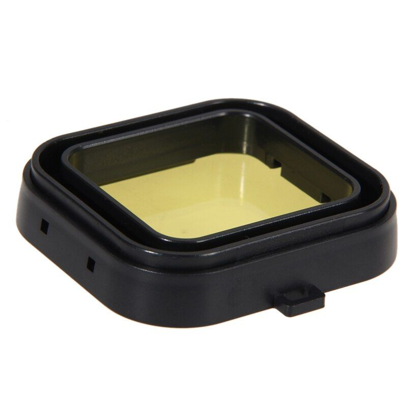 Top Qualité 4 PCS Plongée Sous-Marine Filtre Lens Cover UV Filtre pour GoPro Hero 4 3 + Logement Caméra De Sport Lens Case