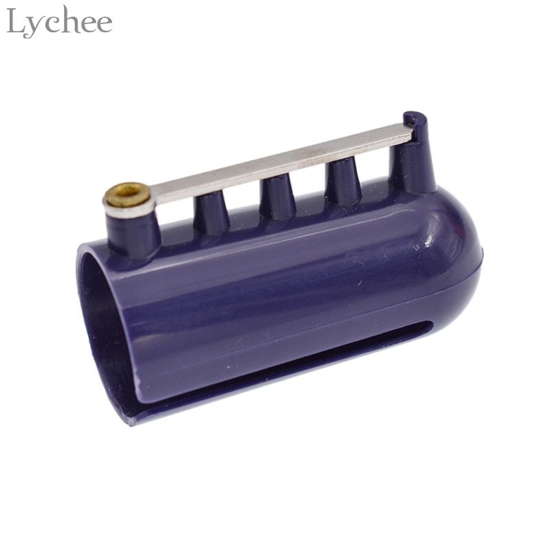 Lychee Knitting Machine Knitting Needle Thimble Braided Knuckle Jacquard Assistant Sewing Tool Accessories