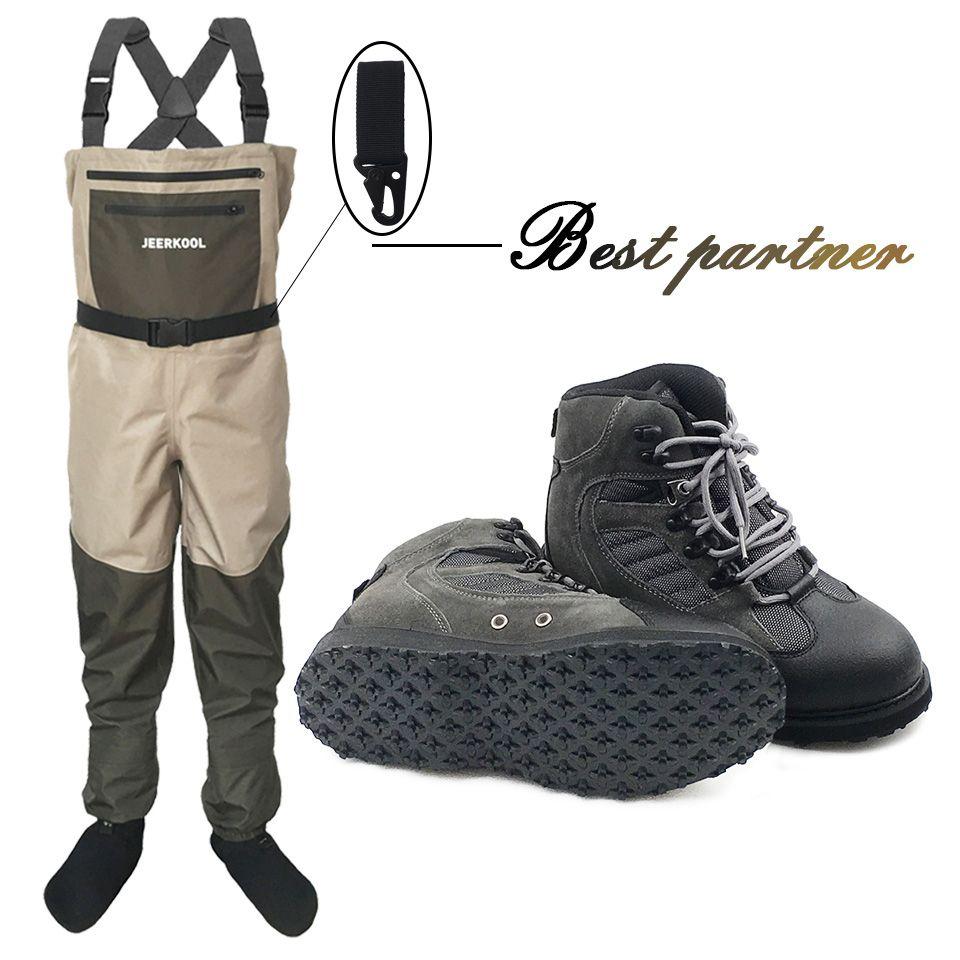 Fliegen Angeln Kleidung und Schuhe Aqua Turnschuhe Waten Kleidung Set Atmungs Rock Gummi Sohle Stiefel Wader Outdoor Hosen PS5