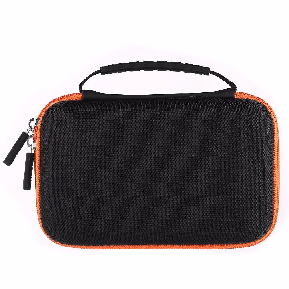 Coque dure Portable transportant le sac de voyage de stockage pour Powerbank 18650/disque dur externe/HDD/électronique/accessoires U disk