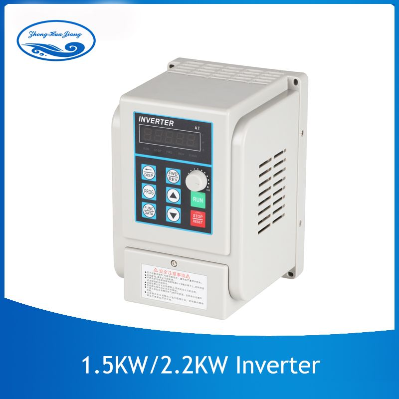 CNC VFD Universal 1.5kw/2.2kw 220 v Inverter Single-Phase Eingang Frequenz Konverter Inverter für Spindel Motor BEI