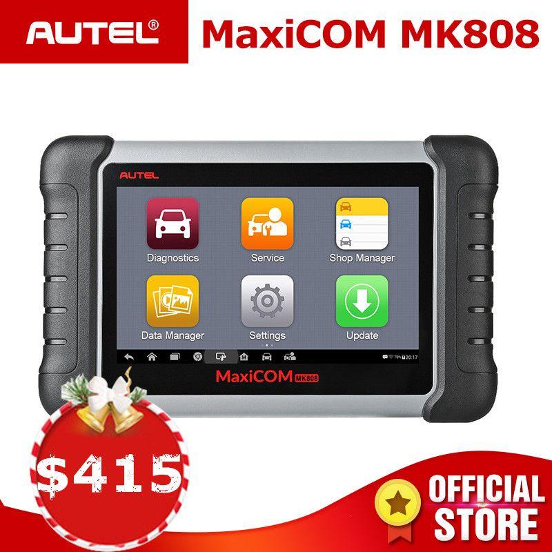 Autel MaxiCOM MK808 OBD2 Scanner Diagnose Auto Werkzeug OBD 2 Automotive Code Reader Tester ODB2 Schlüssel Programmierer Wegfahrsperre MX808