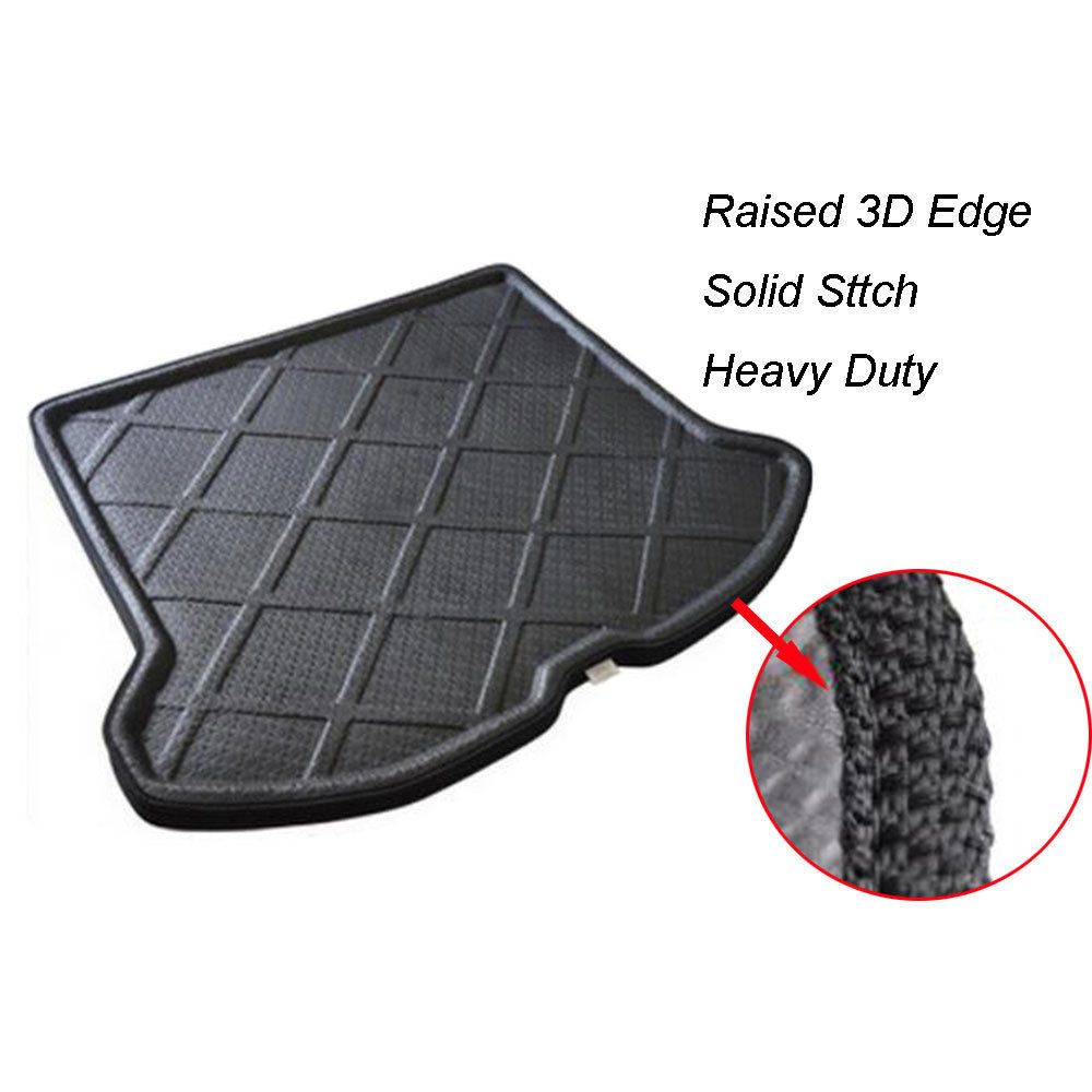 Auto Car Rear Trunk Liner Cargo Floor Tray Hatch Boot Mat Carpet For 2009-2017 Volvo XC60 Car Accessary