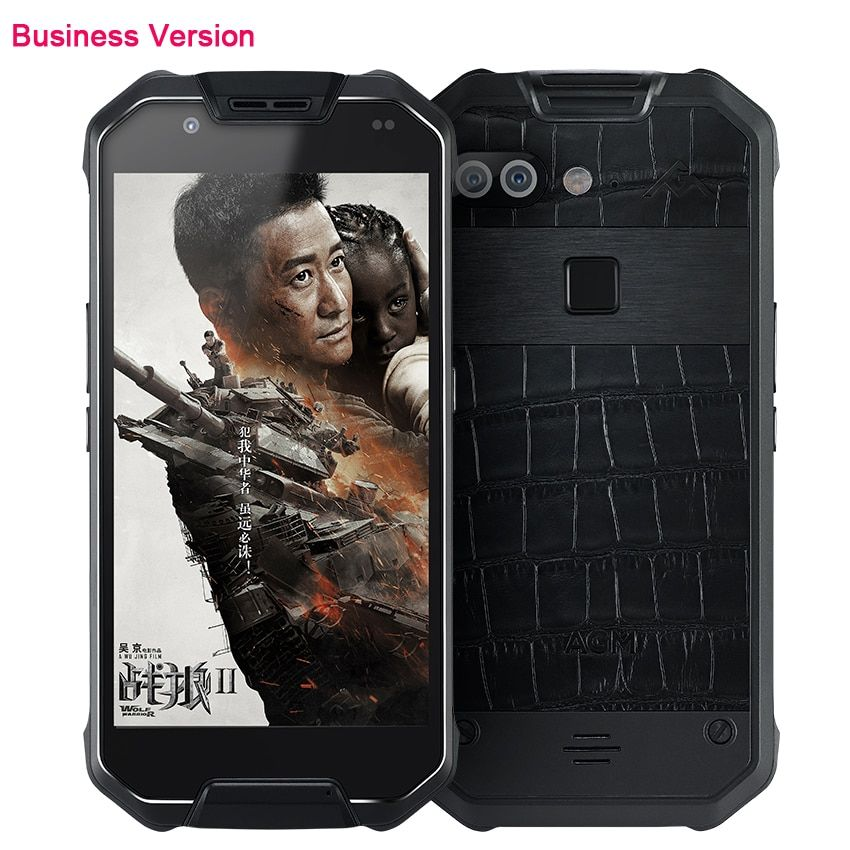 Original X2 Bussiness Leather Luxury Phone Waterproof Android 5.5
