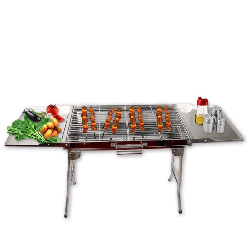 Portable Folding Barbecue Stove Barbecue Oven Outdoor Camping Household Charcoal BBQ Grill Carbon Baking Oven