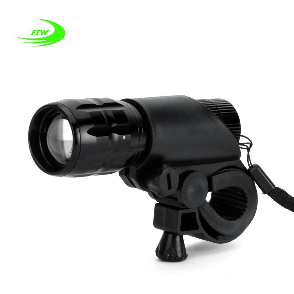 Ftw Велосипедные фары 7 Вт 2000 люмен 3 режима велосипед Q5 светодиодный свет велосипед свет лампы спереди факел Водонепроницаемый лампы + факел ...