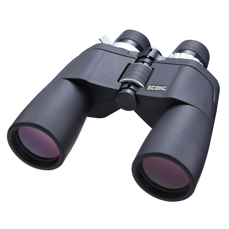 SCOKC High Power Zoom 8-21X50 power zoom Binoculars BAK4 for hunting professional monocular telescope high quality telescope