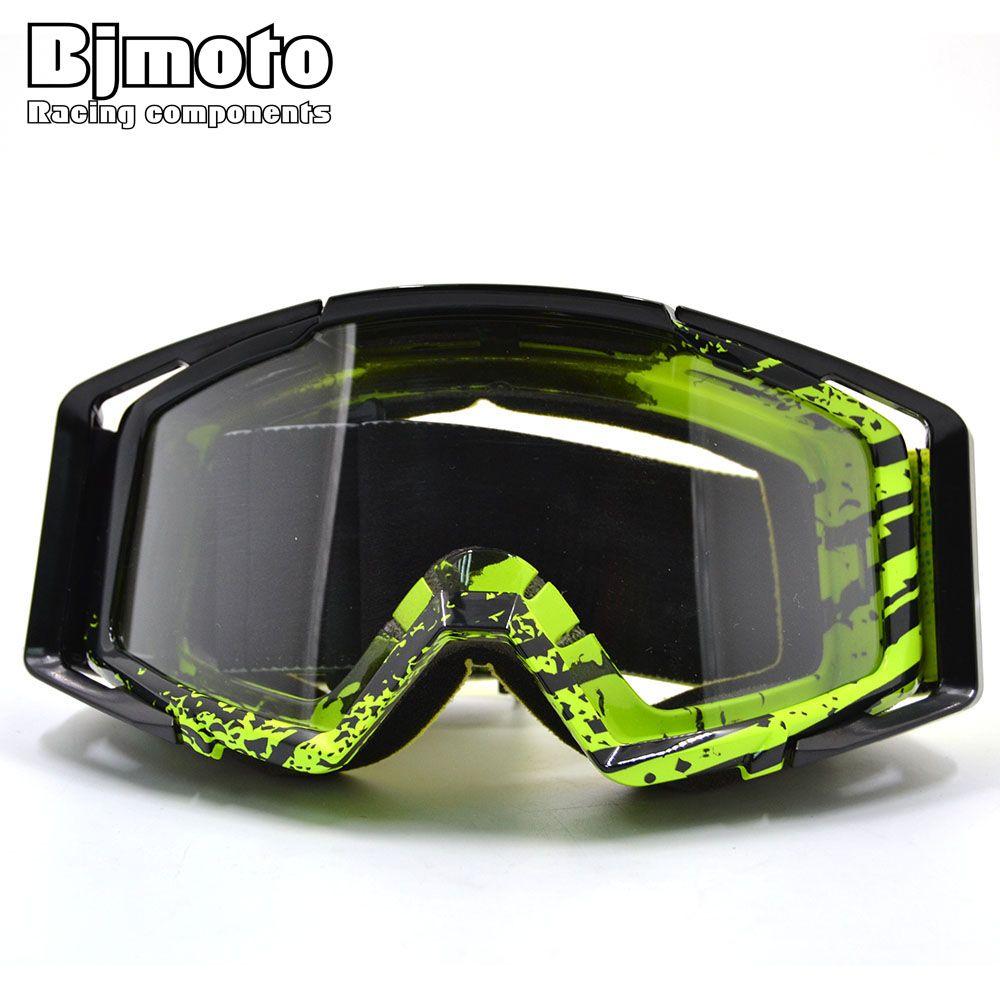 Motocross Goggles Motorcycle goggles Glasses ATV Clear Lens Ski Helmet Googles Off-road for Kawasaki z750 z800 z1000 YZF MT 07