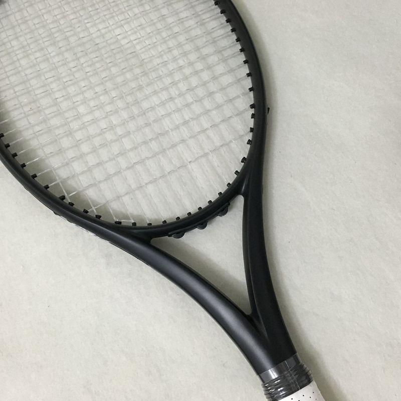 NEUEN zoll 100% kohlefaser tennisschläger Taiwan OEM qualität tennisschläger 300g Nadal 100 sq. in. schwarz schläger
