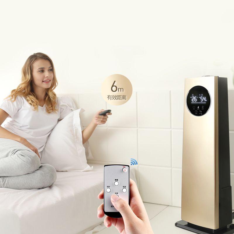 Stand Luftbefeuchter Haushalts Schweigen Schlafzimmer Büro Hohe Kapazität Intelligente Konstante Luftfeuchtigkeit 8L Timing Touchscreen