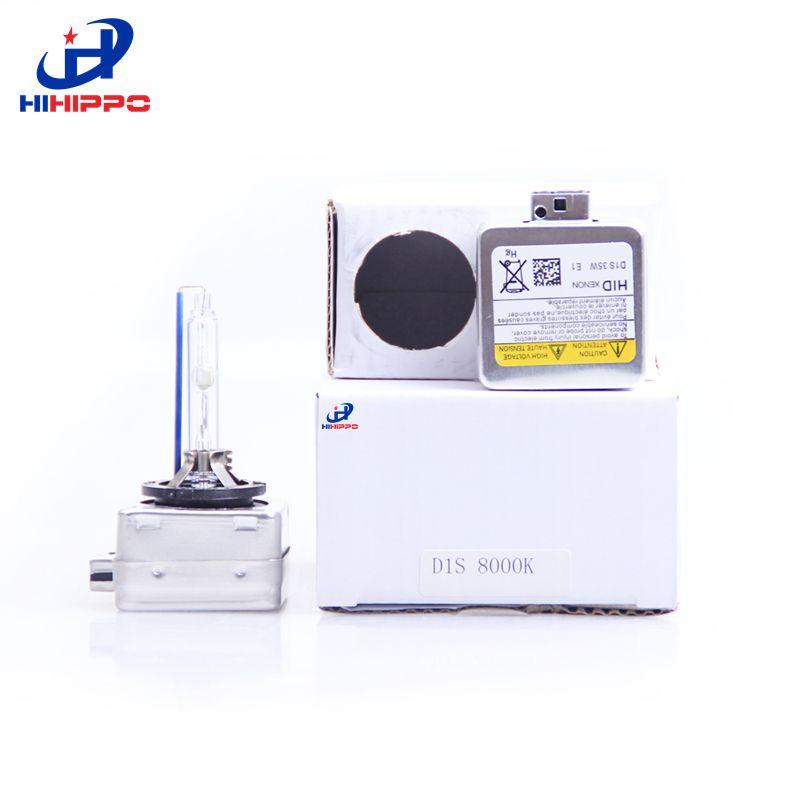HiHippo D1 D1S D1C HID Xenon Light 12 V 35 W Del Xenón Del Coche lámparas Faros Bombillas adaptador convertidor base 3000 K 4300 K 5000 K 6000 K 8000 K