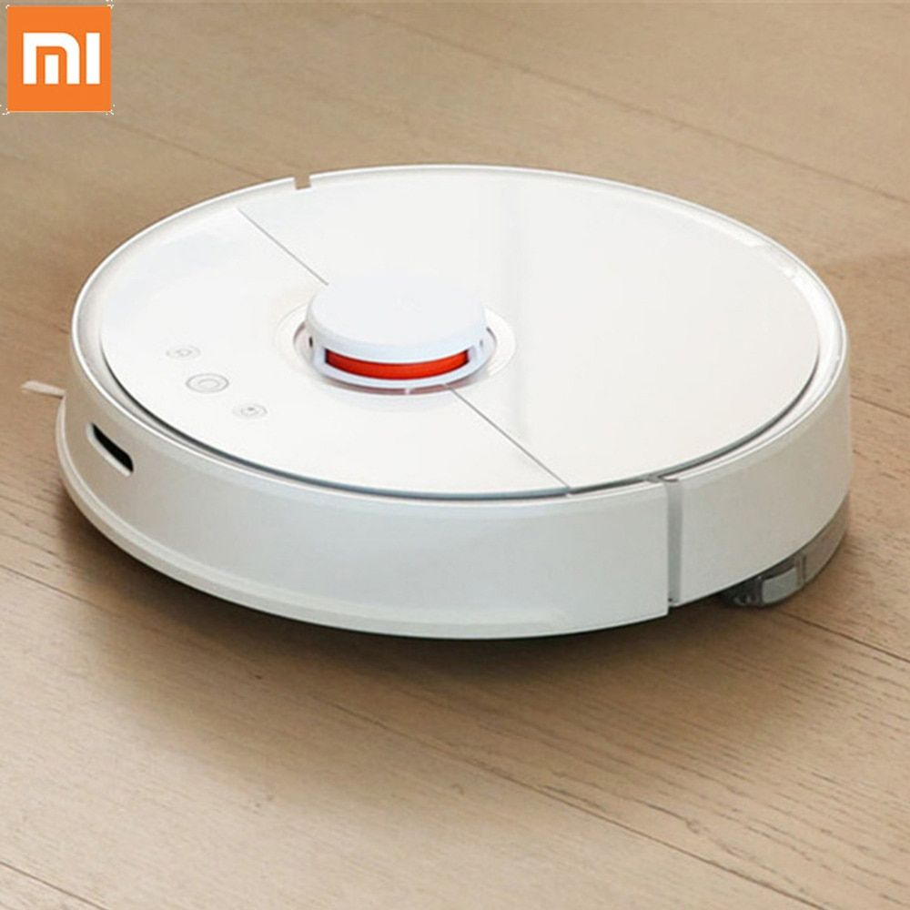 Xiaomi S50 Robot Vacuum Cleaner 1st/2nd Automatic Vaccum Cleaner Sweeping Dust Sterilize Cleaning Washing Mopping Smart Planned