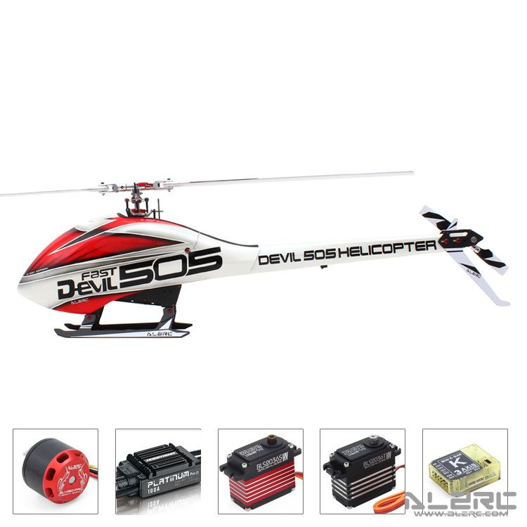 ALZRC - Devil 505 Helicopter FAST FBL Super Combo - B