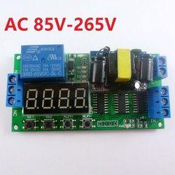 IO23B01 AC 110 В 220 В конвертер Многофункциональный Self-замок Реле PLC цикл таймер модуль переключатель времени задержки