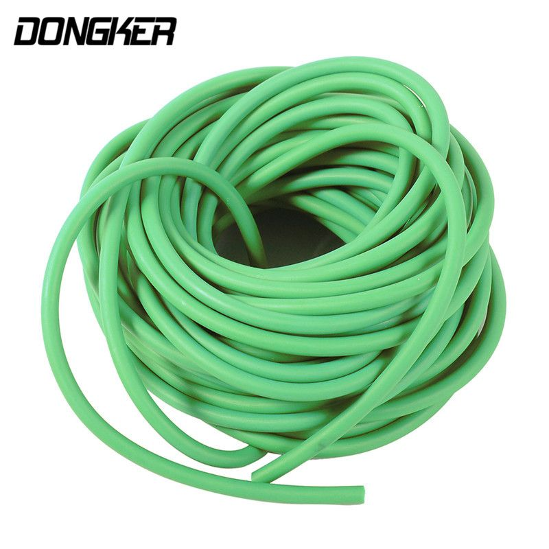 10m Durable Slingshot Rubber Tube Band for Outdoor Hunting Shooting Stretchy Catapult Elastic Rope Portable Natural Latex Tube