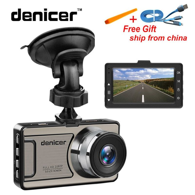 Novatek 96655 Car DVR Camera Full HD 1080P Dash Camera 30Fps Video Registrator Car 170 Degree Dash <font><b>Cam</b></font> Night Vision Recorder Car