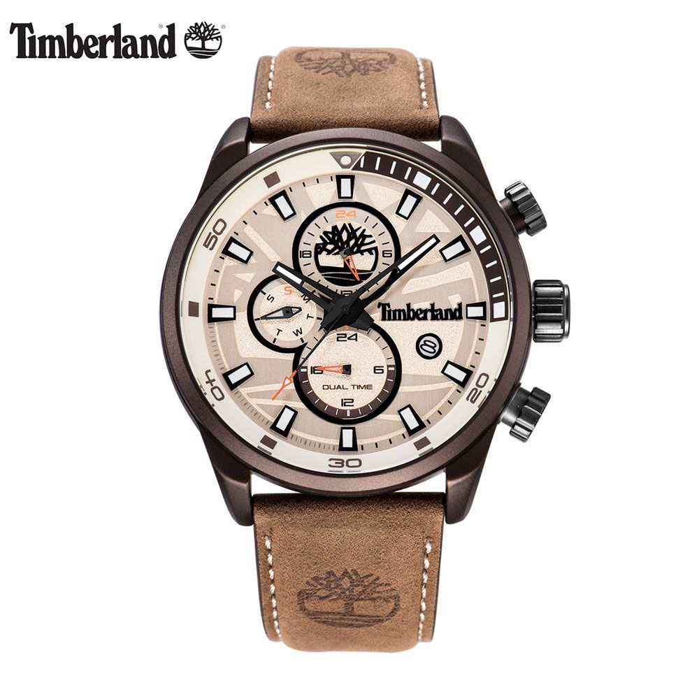 Timberland Original Men's Watches Top Brand Luxury Multi-function Casual Quartz Calendar Waterproof Week Display Watches T14816