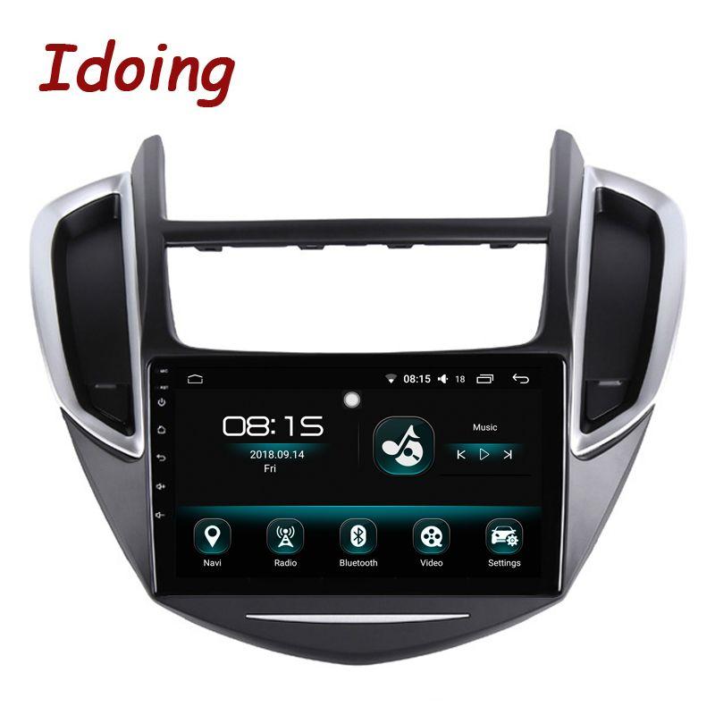Idoing 9 Android 8.0 Auto GPS-Player für Chevrolet Trax 2013-2016 Octa Core 4 GB RAM 64G ROM Auto Radio Multimedia GPS NAVI 2.5D