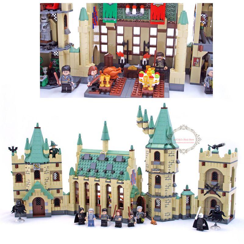 lepin New Arrival 16030 1340pcs Harry Hogwart's Potter Castle Building Blocks Kit Set Building Blocks Bricks Toys Fit For 4842