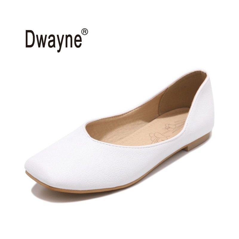 Big Size Women's Shoe Fashion Flats Shoes SLM Casual Party Shoes For Women PU Wedding Shoes chaussure femme zapatos mujer