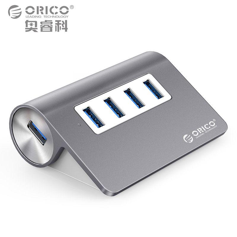 ORICO Aluminium Mini USB 3.0 Hub 4 Ports 5 Gbps High Speed Hub USB Portable USB Hub USB Splitter Adapter Kabel Für PC Laptop