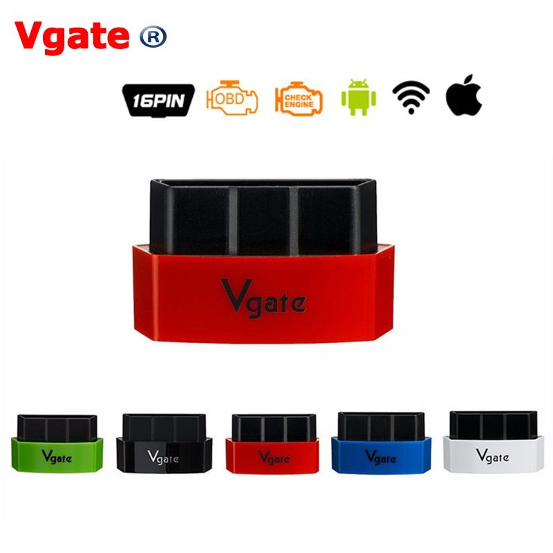 Vgate iCar3 Wifi OBDII OBD2 ELM327 iCar 3 Elm327 Bluetooth Diagnostic Interface For Android /IOS/PC