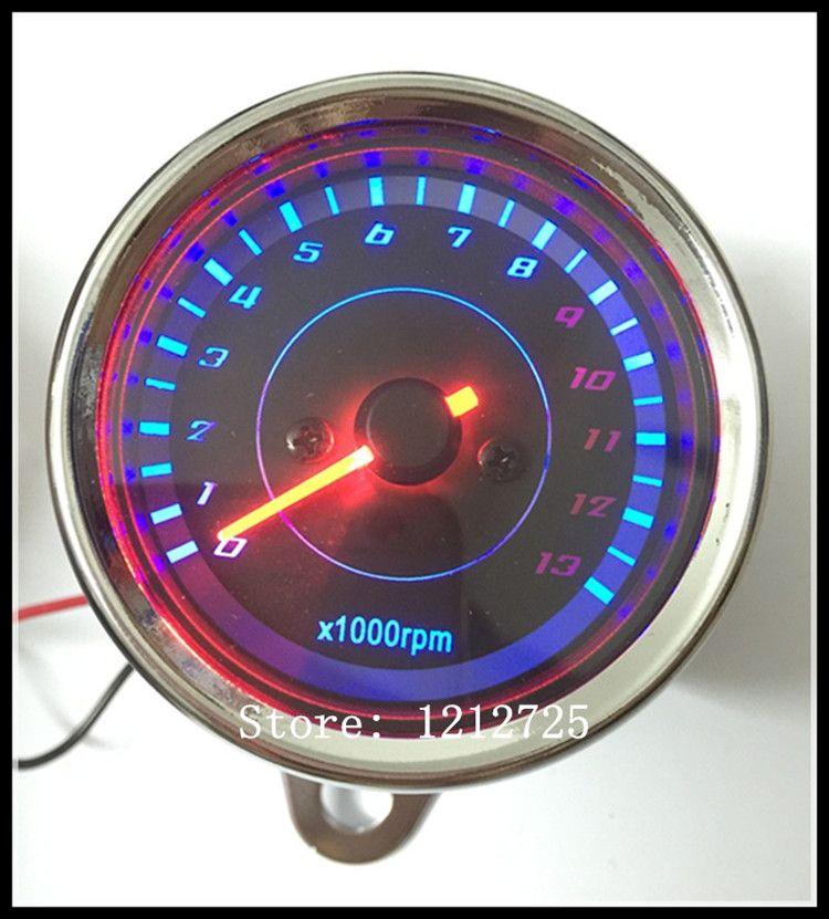 Motorcycle Mechanical tachometer Refit Retro Universal type MOTO meter 13000 RPM