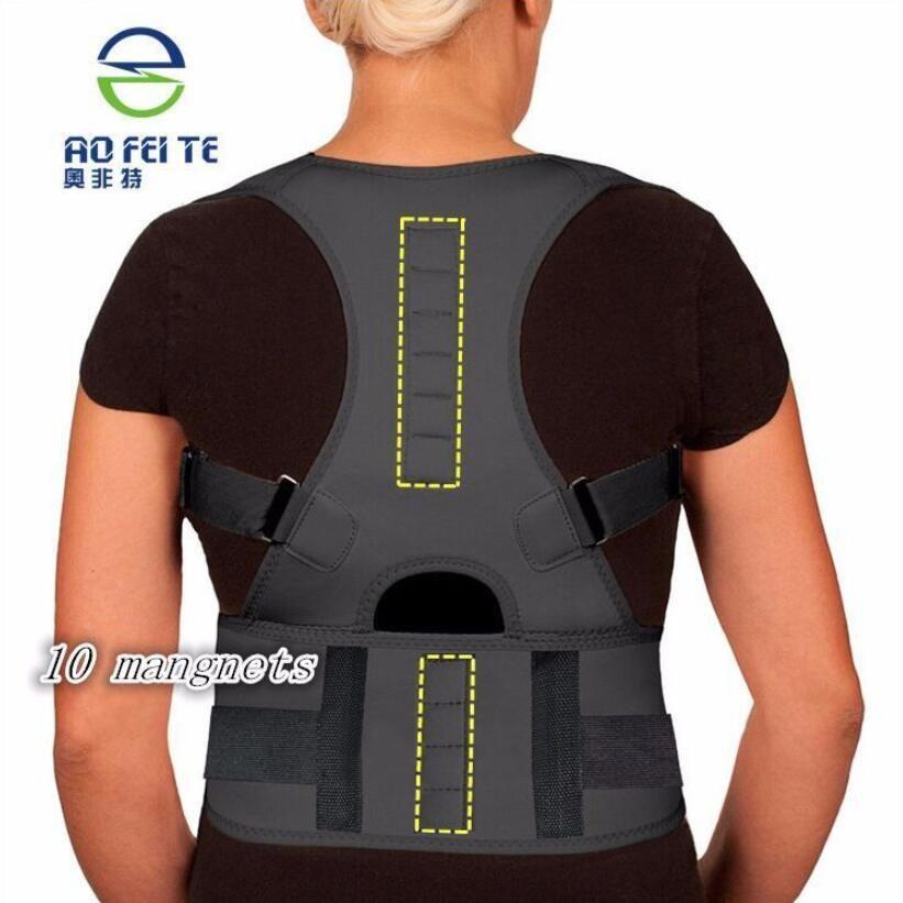 МАГНИТНЫЙ КОРРЕКТОР ОСАНКИ для спины корректор осанки корсет для спины AFT-B004