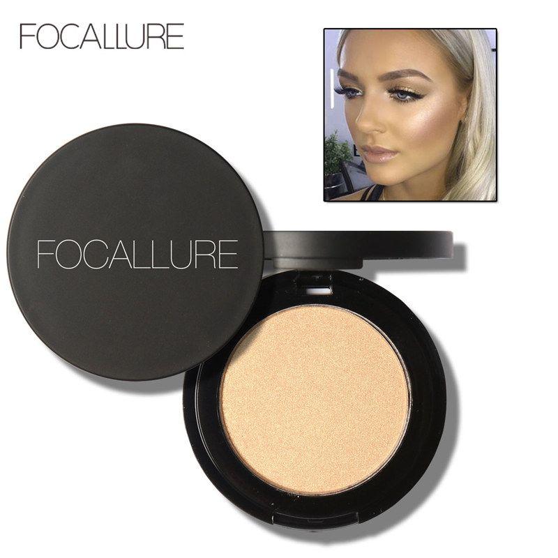 Focallure 5 couleurs Surligneur Poudre Maquillage Imagic Illuminateur Éclaircissant Soin Du Visage Cuit Lecture Cosmétique Poudre