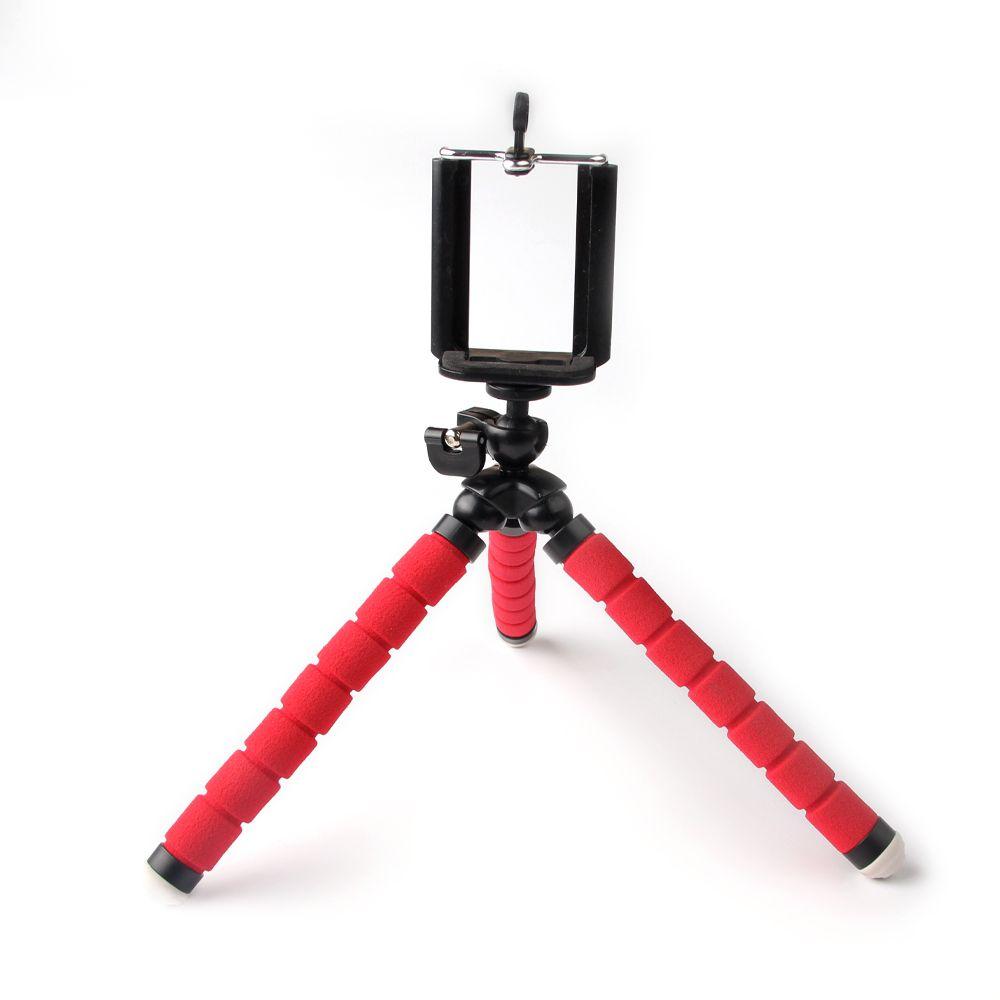Universal handyhalter flexible stativ, kamera stehen red octopus für iphone mobile bild foto unter sport zubehör
