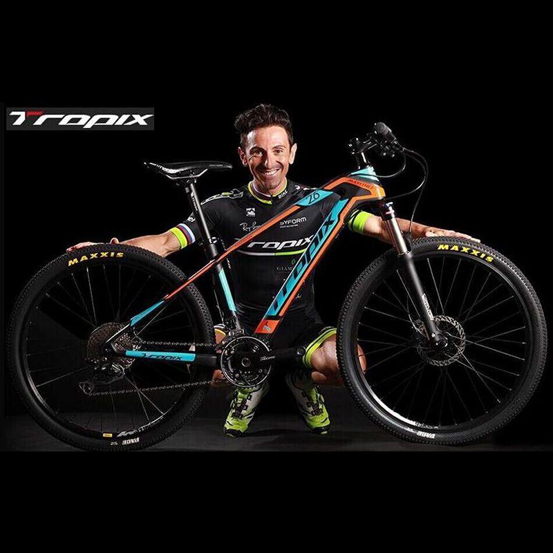 Mountainbike TROPIX 27 Geschwindigkeit nicht Faltrad 26 zoll * 1,95 Unisex Fahrrad 4 farben aluminium alloy Mountain fahrrad
