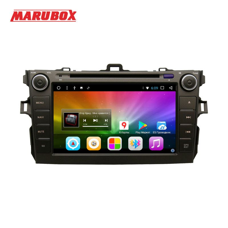 MARUBOX 8A105DT8 Car Multimedia Player for Toyota corolla 2007 - 2011,8 Core, Android 8.0,DVD,GPS,Radio, 2GB RAM, 32GB ROM