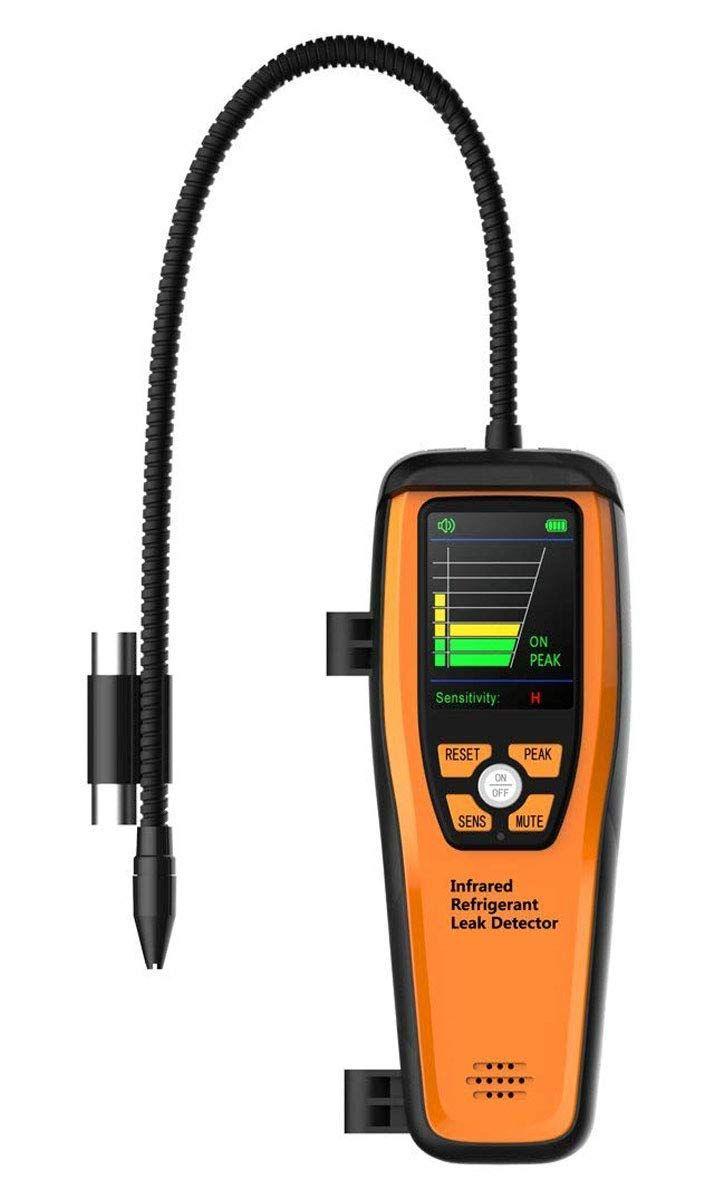 ILD-200 Erweiterte Kältemittel Leck Detektor Halogen Leckage Hohe Empfindlichkeit Tragbare Fall 10 Jahre Leben 【3 Jahre Warranty