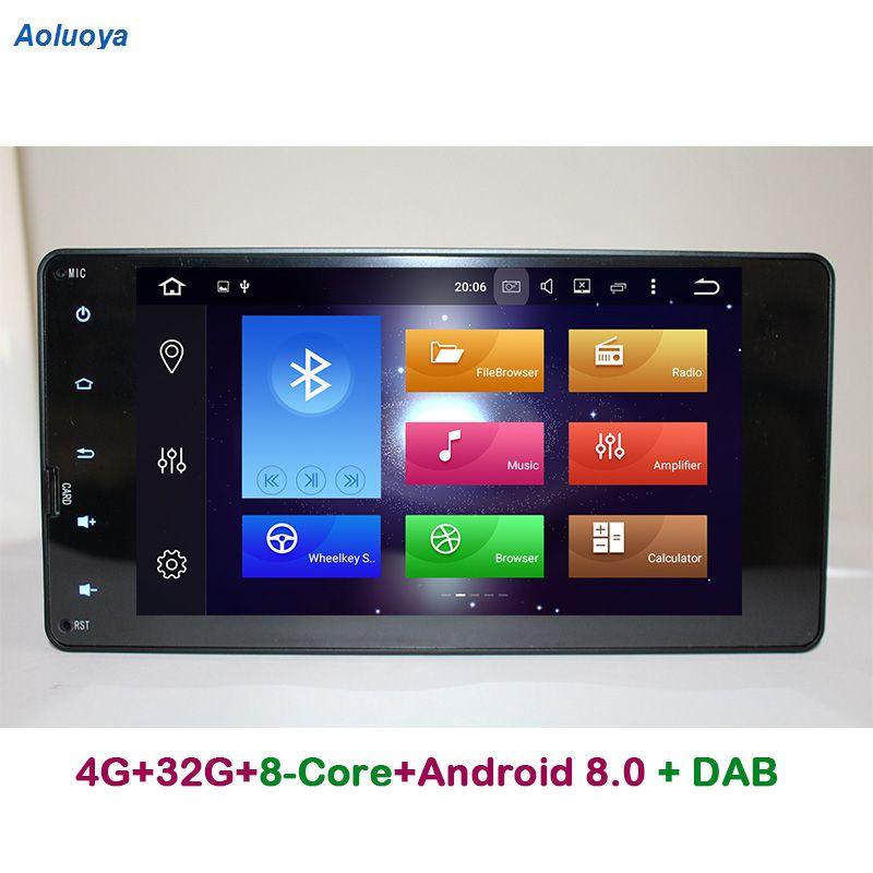 Aoluoya RAM 4GB ROM 32G Octa Core Android 8.0 CAR DVD GPS For Mitsubishi Pajero V93 V97 Outlander 2012-2015 Sport L200 2015 2016