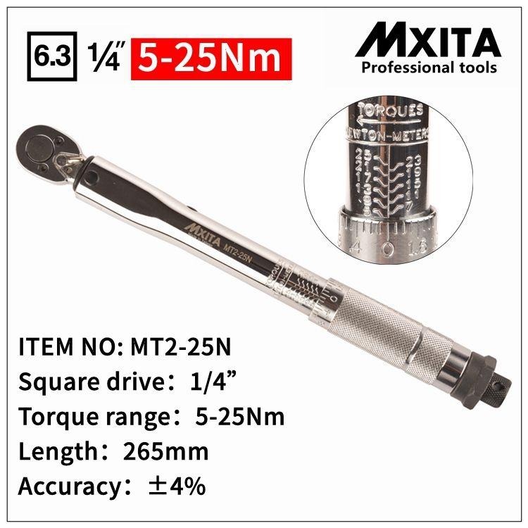 MXITA clé dynamométrique réglable clé à main outil voiture vélo outils de réparation