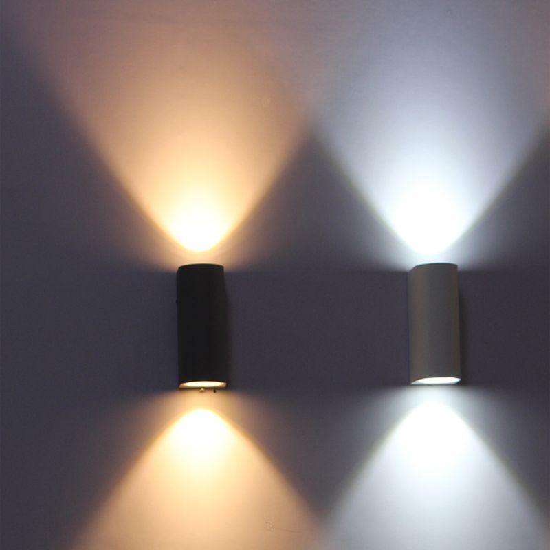 Applique extérieure, IP65 imperméabilisent l'éclairage extérieur de mur, lumière de mur LED, lampe de mur LED de balcon 6 W