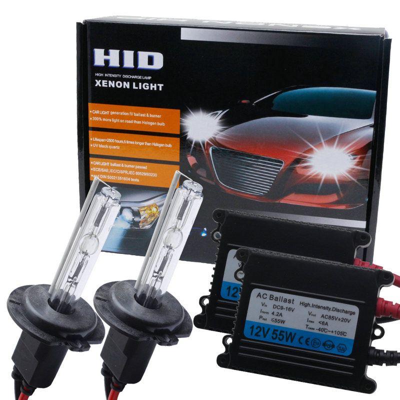2018 Hot Sale12v55w Auto Xenon Headlight H7 HID Xenon Ballast kit H1 H3 H8h9h11 9005/hb4 880/881/h27 H4 bi-xenon for Car headlam
