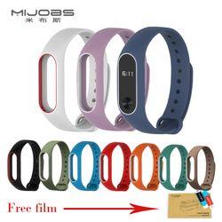 Xiao mi banda 2 Correa de silicona wristband para mi banda 2 pulsera inteligente para Xiao mi banda 2 Correa Accesorios