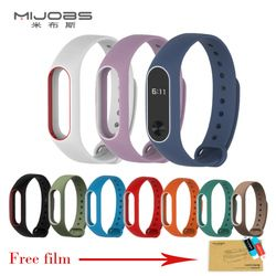 Xiaomi mi band 2 Strap Belt Silicone Colorful Wristband for Mi Band 2 Smart Bracelet for Xiaomi Mi Band 2 Strap Accessories
