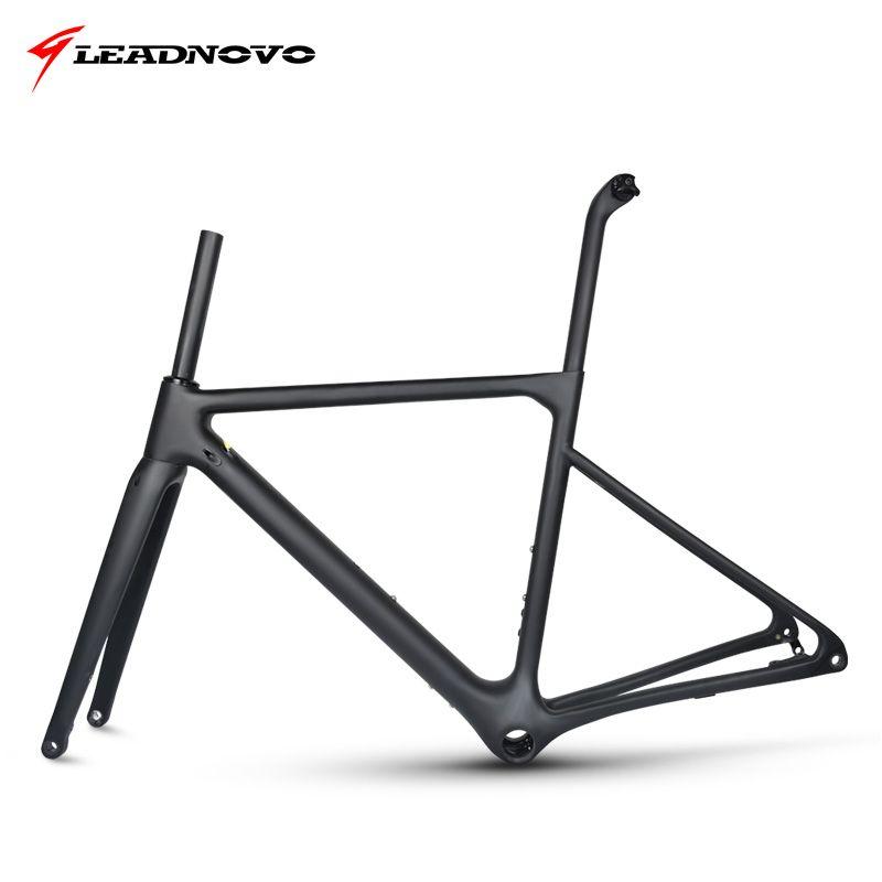 2019 neu Disc Bremse Rahmen Carbon Road Rahmen UD matte glänzend Di2 & Mechanische racing fiber bike frameset können angepasst farbe