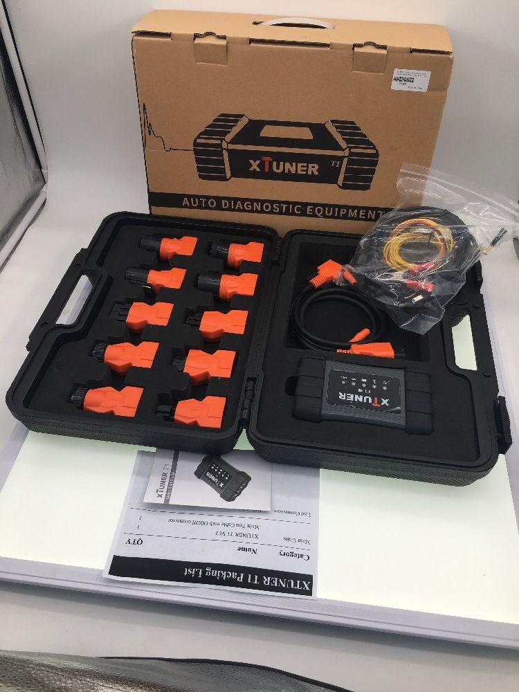 Neueste OBD 2 Autoscaner XTUNER T1 V8.7 HD Heavy Duty Lkw Auto Diagnose Werkzeug Mit Lkw Airbag ABS DPF EGR reset + 8' WIN8