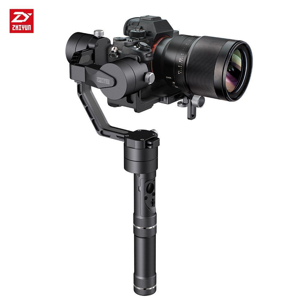 zhi yun Zhiyun Official Crane V2 3-Axis Brushless Handheld Gimbal Stabilizer Kit