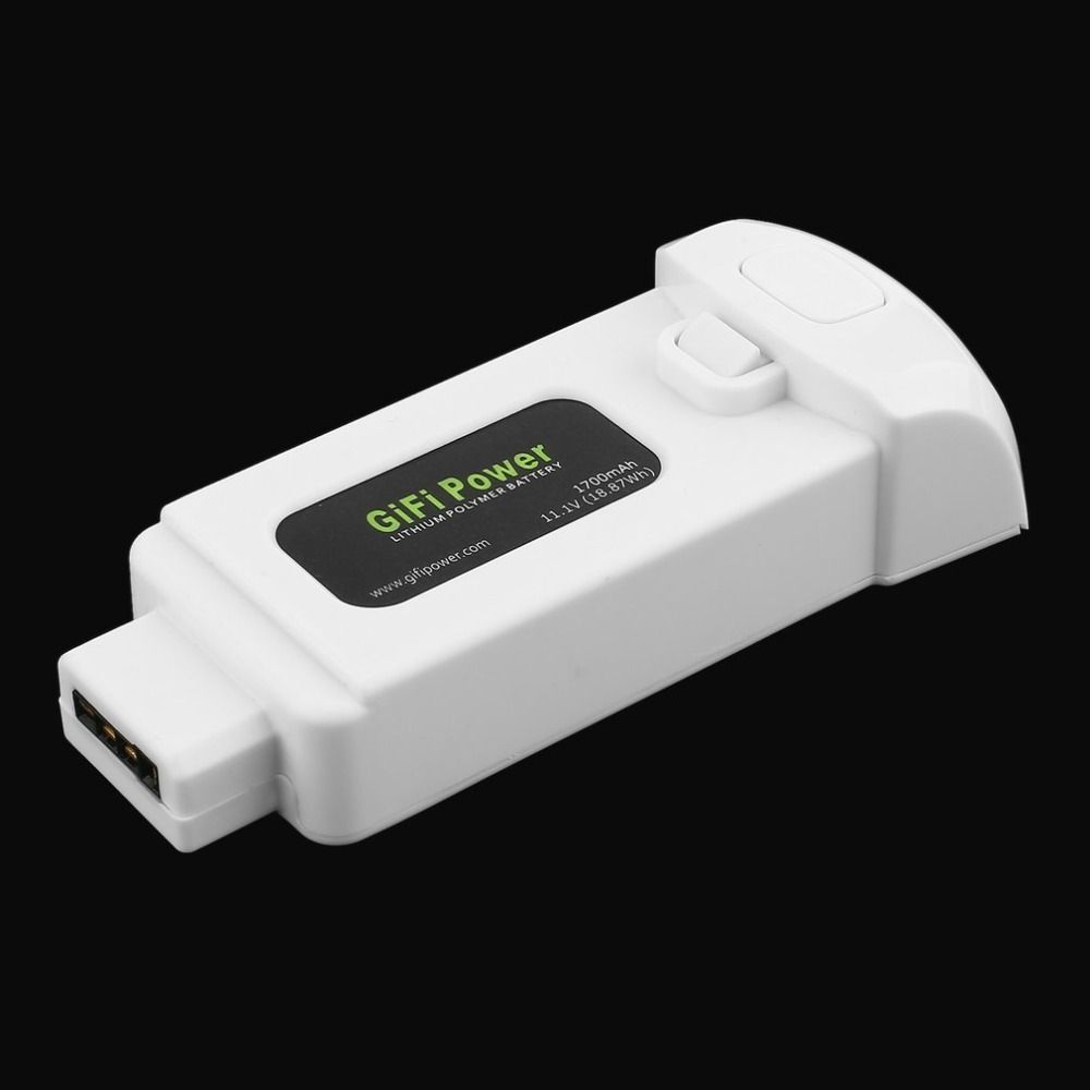 1PCS 11.1V 1700mAh 18.87Wh Lithium Polymer Battery for Yuneec Breeze Drone Lightweight Replacement Power for Flying Camera