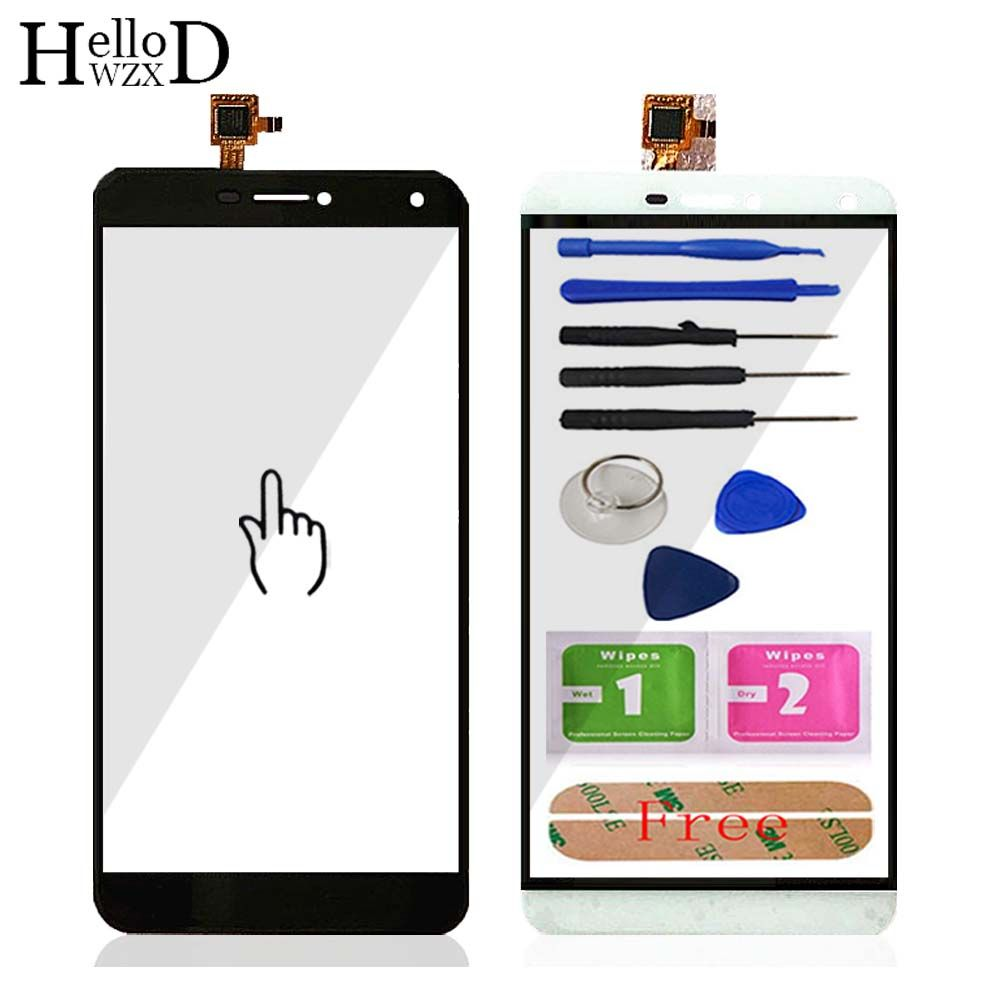 HelloWZXD Touch Glass For Oukitel U11 Plus Touch Screen Glass Digitizer Panel Touchscreen Front Glass Lens Sensor + Adhesive
