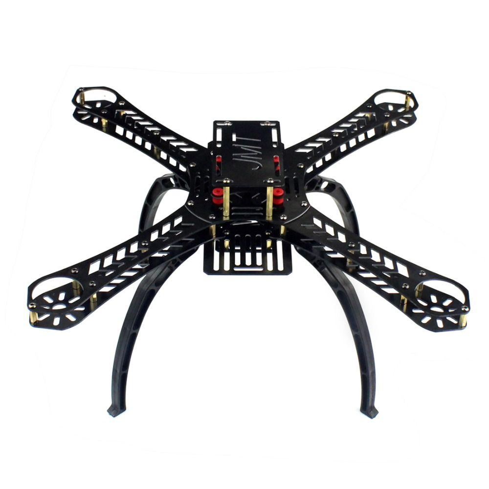 X4 250 280 310 360 380mm empattement en fibre de verre Alien à travers Mini quadrirotor cadre Kit bricolage RC Multicopter FPV Drone F14889/93