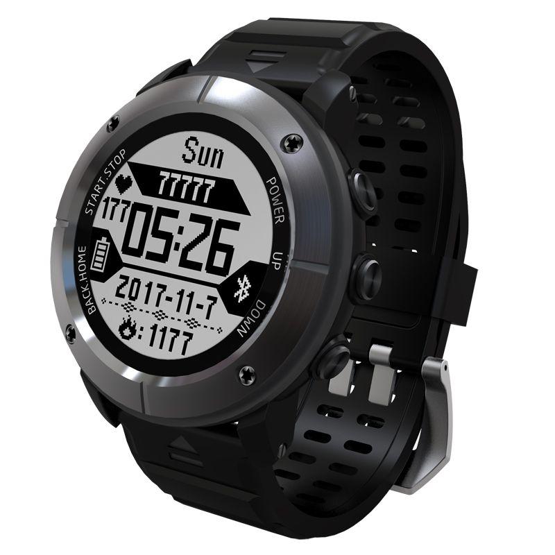 Smart Watch UW80C GPS IP68 200 Meters Waterproof Swimming Heart Rate Monitor Weather forecast Thermometer Sport Mode Wristwatch