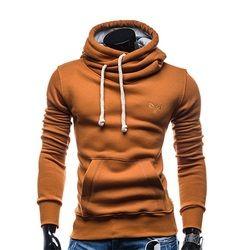 2017 new Fashion Spring autumn hip hop hoodie sweatshirt men hooded streetwear pillover tracksuit Solid Color sportswear Hoody