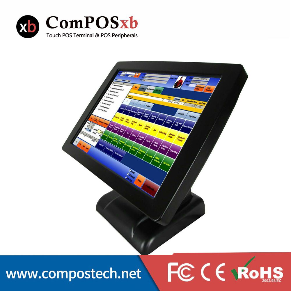 Professional Manufacturer Of POS Machine J1900 2G 32G 15 Inch TFT LCD Touch Screen Monitor Pos System Pos All In One