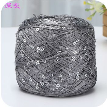 Chaud 1 boules/lot 100g naturel dur paillettes coton fil mince fil en gros fil 250 mètres