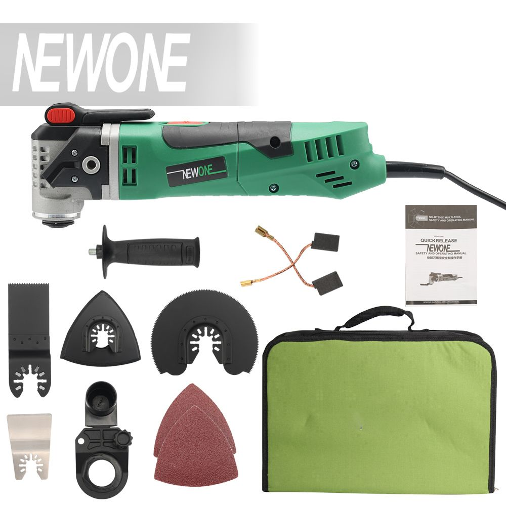 NEWONE Multi-Function Electric Saw Renovator Tool Oscillating Trimmer Home Renovation Tool Trimmer woodworking Tools